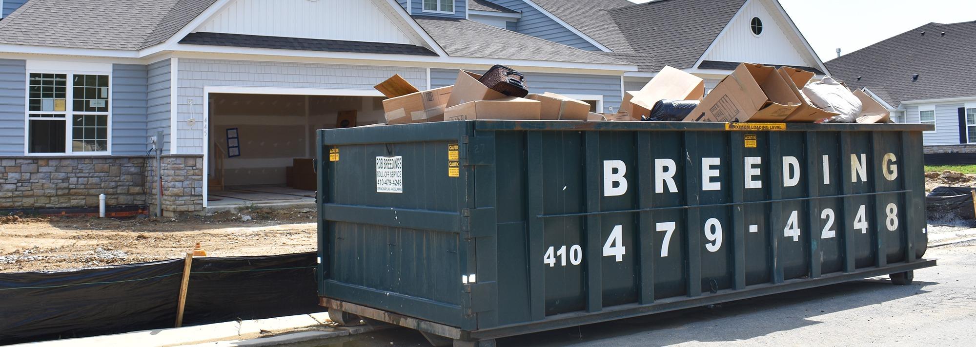 driveway dumpsters